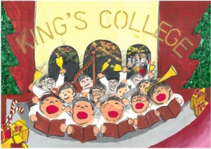 King's College Christmas Card Design Competition