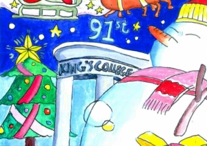 King's College Christmas Card Competition 2016