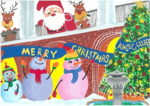 King's College Christmas Card Design Competition 2020