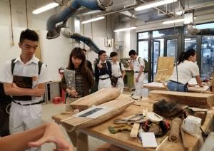 Visit to Communication & Visual Arts Academy of HK Bapti...
