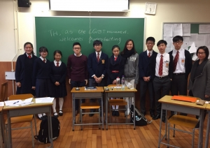 English Debating Friendly Match with Sacred Heart Canossian...