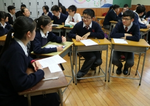 S.6 Joint School Oral Practice with St. Clare's Girls' Schoo...