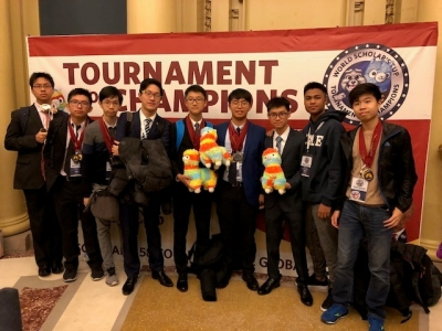World Scholar's Cup Tournament of Champions 2018