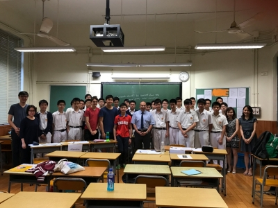 Friendly English Debate with German Swiss International School