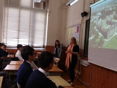 Talk on studying in Royal Holloway, University of London