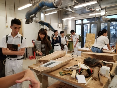 Visit to Communication & Visual Arts Academy of HK Baptist University