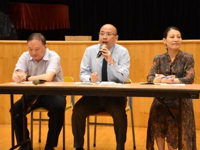 Forum with Principal (我和校長有個約會)