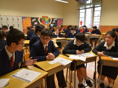 S6 Joint School Oral Practice with St. Clare's Girls' School