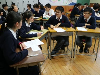 S.6 Joint School Oral Practice with St. Clare's Girls' School and St. Louis School